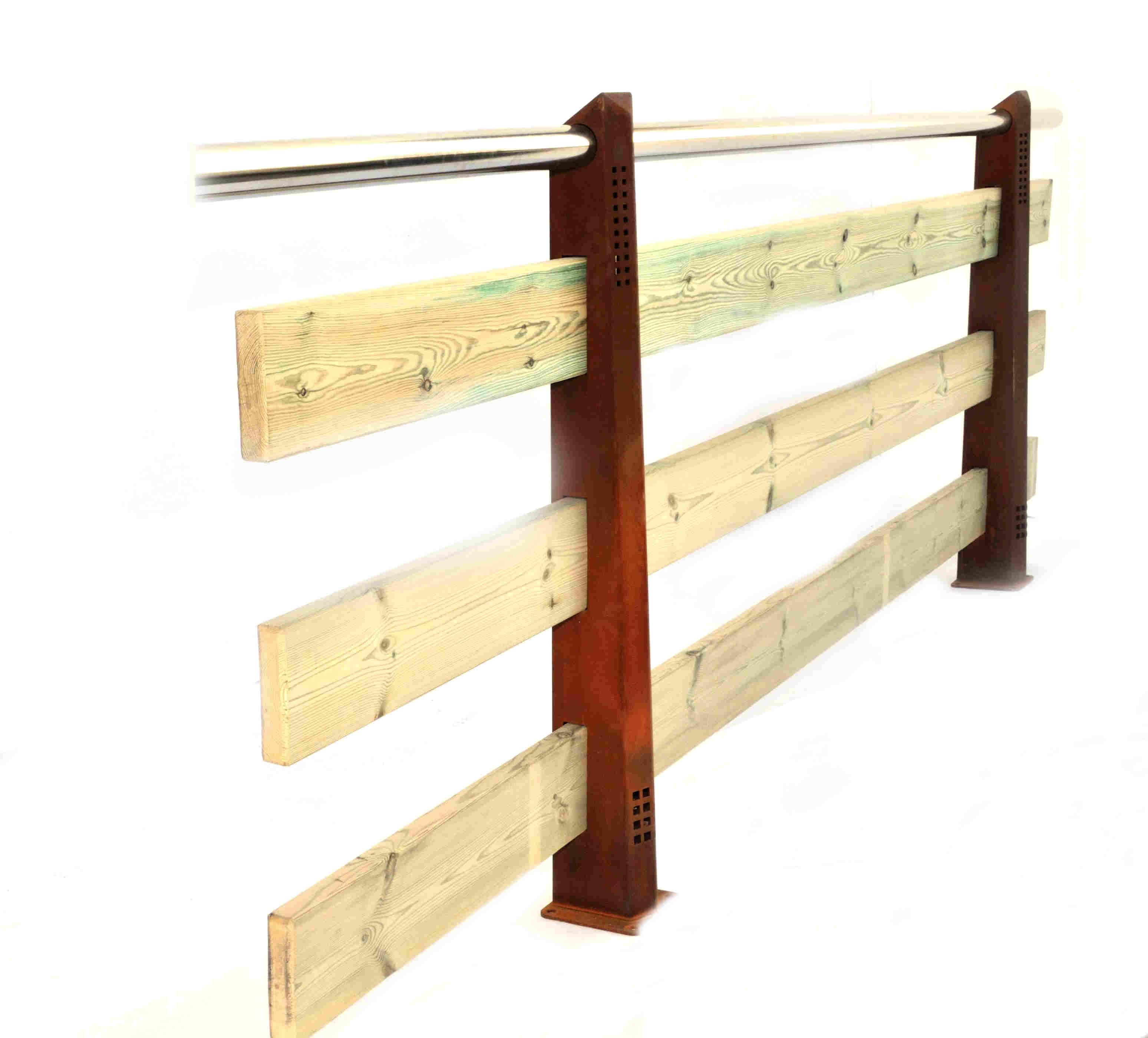 Poste aitana - Pasamano de madera ...